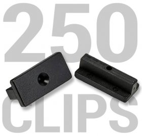 250 Composite Decking Clips (No Screws)